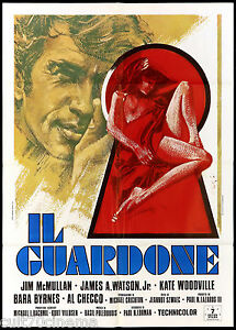 IL-GUARDONE-MANIFESTO-CINEMA-BARA-BYRNES-1972-EXTREME-CLOSE-UP-MOVIE-POSTER-2F