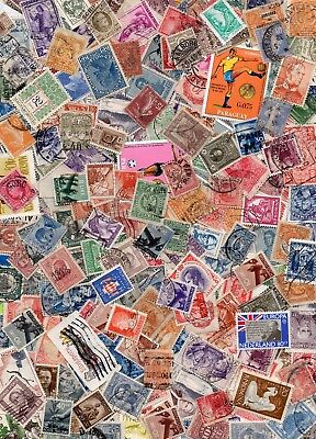 KILOWARE WORLD - Appox. 600+ Stamps - 50 GRAMS 'OFF PAPER' mint & used