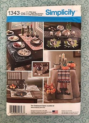 CUTE FALL DECOR GIFT PROJECTS! Simplicity Patterns Simplicity Crafts Crafts1343 (Fall Craft Projects)