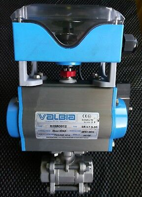 VALBIA Pneumatic Antrieb 82SR0012  NEW made in Italy