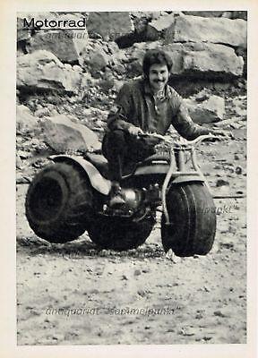 Honda US 90 / ATC 90 All-Terrain Cycle Dreirad - Original Test von 1971