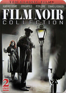 FILM NOIR COLLECTION in COLLECTORS TIN (2 DVD BOX SET) ** Brand New & Sealed **