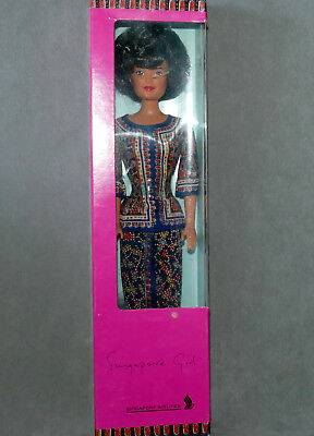 Barbie 1990S Singapore Airlines Box 3Rd Version Pink Box Red Rose Lips