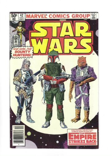 STAR WARS #42   1ST BOBA FETT & YODA, newstand 7.0 FN/VF, 1980 Marvel
