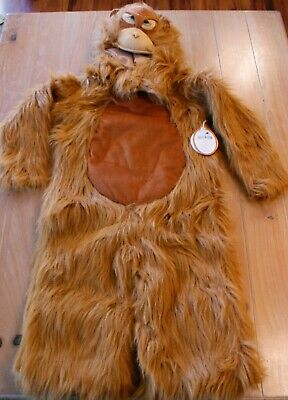 New Pottery Barn Kids ORANGUTAN Monkey Costume Kids Size 7-8