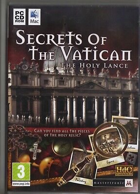 SECRETS OF THE VATICAN-THE HOLY LANCE