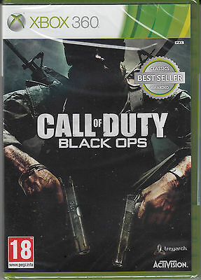 Call of Duty Black Ops Xbox 360 Brand New Factory Sealed COD