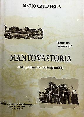 MANTOVASTORIA  Dalla palafitte alla civiltà industriale  Di M. Cattafesta