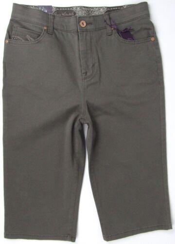 Gloria Vanderbilt Skimmers Comfort Mid Rise Shorts Sz 6P