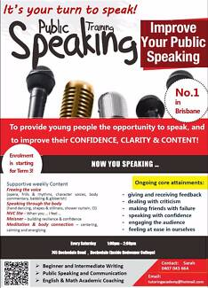 Public Speaking and Effective Communication