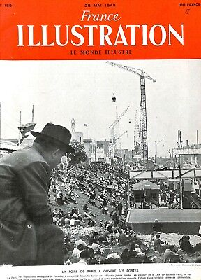 Foire de Paris Parc des Exposition de la porte de Versailles ILLUSTRATION 1949 Paris Porte De Versailles
