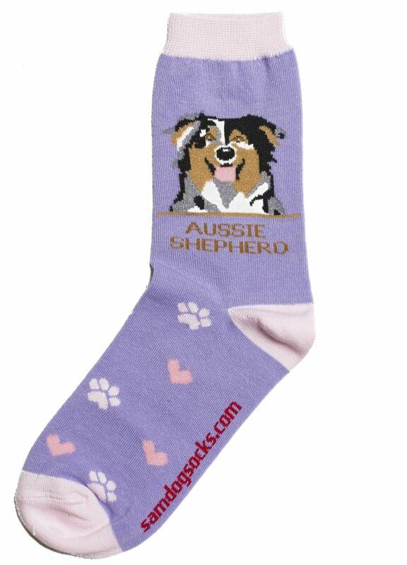 Australian Shepherd Dog Socks