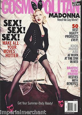 Cosmopolitan Magazine Madonna Sex Best Beauty Products Friends With