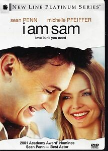 I Am Sam (DVD 2002 WS) Sean Penn  Michelle Pfeiffer   Dakota Fanning