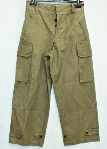 Genuine Vintage French Army M47 Cargo Pants /Trousers W 29 L 39