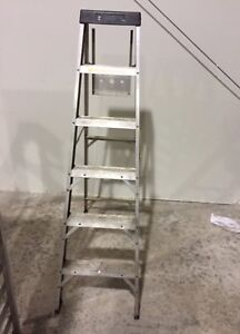 6 ft folding ladder. Excellent condition. $35