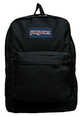 JANSPORT SUPERBREAK - Wonderful BREAK - CLASSIC - BACKPACK BLACK - New with tags