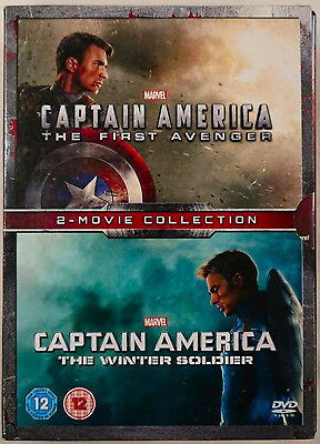 CAPTAIN AMERICA: Part 1-2  The First Avenger / The Winter Soldier Double