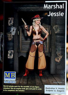 24018 Master Box Pin Up Series Marshal Jessie Figurenbausatz, 1:24, neu 2016