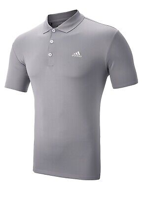 Adidas Performance Golf Polo Shirt - XXL ONLY - Mid Grey - 1st Class Post
