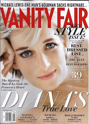 Vanity Fair magazine Princess Diana Best dressed Goldman Sachs Hollywood movies