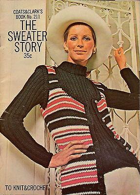 Винтажные Crochet & knit Patterns coats