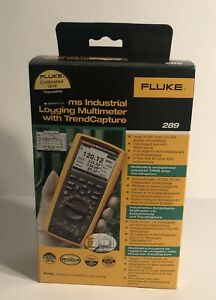 Fluke 289 with Certificate of Calibration - Brand New