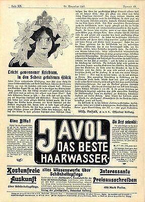 Schönheit Bad Seifen (Wilh. Anhalt Ostseebad Kolberg Aok- Seife Verlag Goldgrube Schönheitspflege 1901)