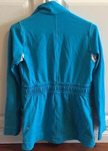 Lululemon Full Zipper Sweater Blue Size 6 (Fits Like A 4) Cambridge Kitchener Area image 3