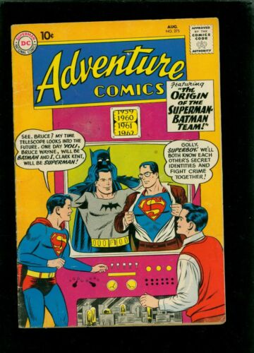 Adventure Comics 275 VG 4.0