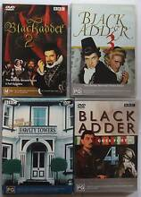 Blackadder 2, 3, 4 and Complete Fawlty Towers -  Comedies Seventeen Mile Rocks Brisbane South West Preview