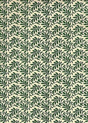 Carta Varese / Überzugspapier / Italienisches Buntpapier 50 x 70 cm grün