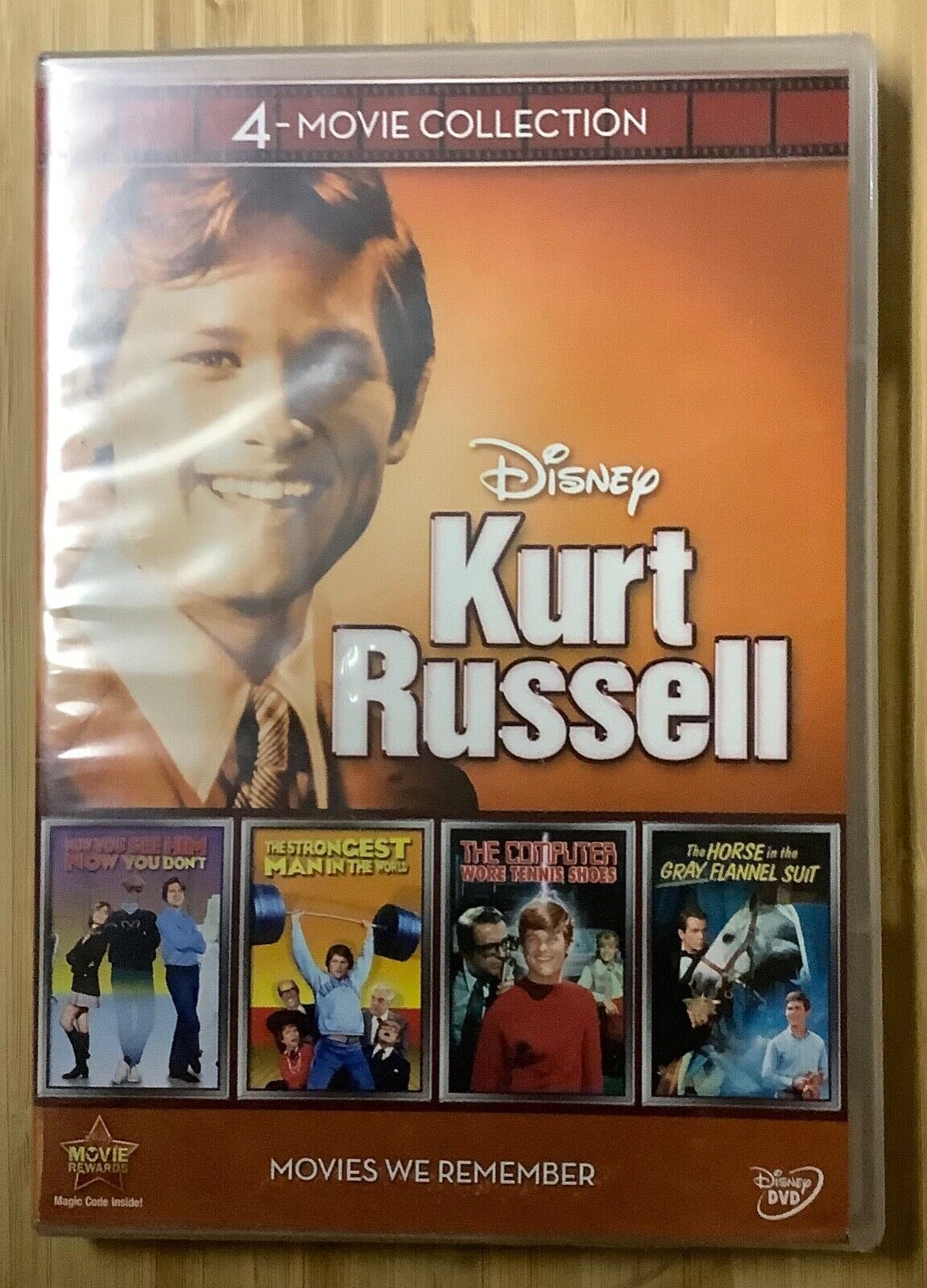 Kurt Russell In Four Disney Comedies DVD 1960s And 1970s NEW SEALED - $15.00