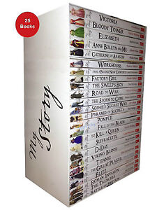 My Royal Story 25 Books Set - The Complete School Children History Collection