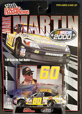 2000 Racing Champions Mark Martin Chrome Chase Car - #433 of just 999 Ever Made