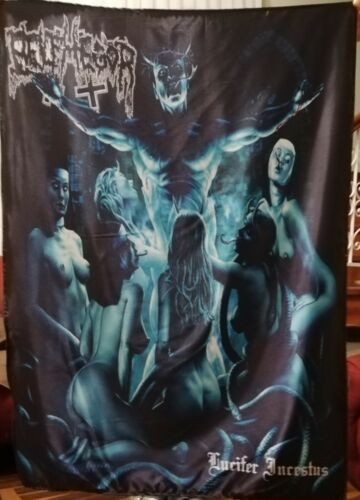 BELPHEGOR Lucifer Incestus FLAG CLOTH POSTER WALL TAPESTRY BANNER CD Black Metal