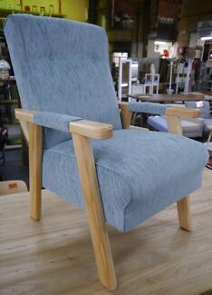 New Timber Lounge Danish Scandi Style Retro VB Armchairs Chairs
