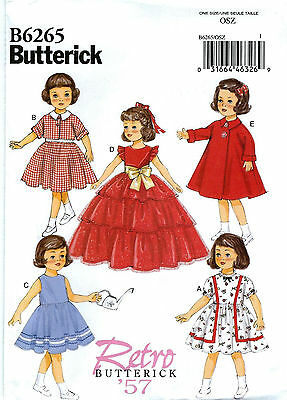 SEWING PATTERN! MAKE 50'S DOLL CLOTHES! FITS SHIRLEY TEMPLE~AMERICAN GIRL~PATSY!](50s Girls Clothes)