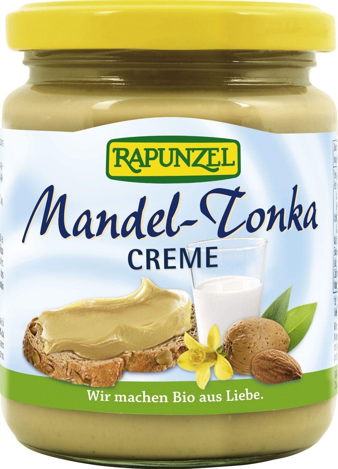 RAPUNZEL Mandel-Tonka-Creme, 250g BIO aus Liebe