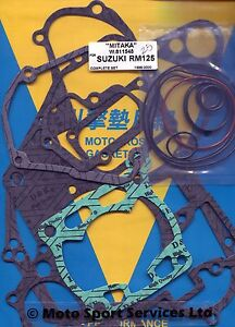 Full-Engine-Gasket-Set-Suzuki-RM125-RM-125-1998-to-2000-Mitaka