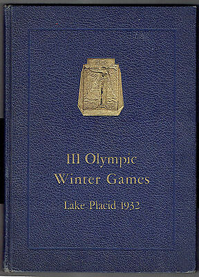 1932 III Olympic Winter Games, Lake Placid N.Y., Official Report , 291 pages