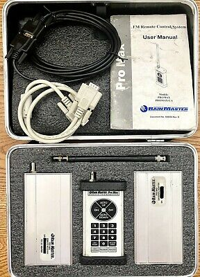 Rain Master ProMax Water Timer Transmitter Receiver Remote Control Adapter