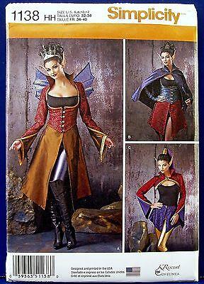 Female Elf Halloween Costumes (Simplicity Medieval Fairy Elf Halloween Costume Sewing Pattern 6,8,10,12)
