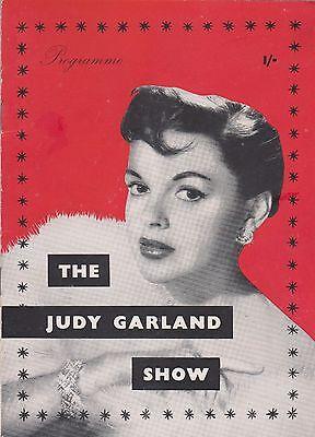 The Judy Garland Show, Dominion Theatre, Oct/Nov 1957