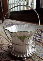 Shelley Late Foley ,vine Border, Mod. 8070 Circa 1910 Supporto In Silver Plate - shell - ebay.it