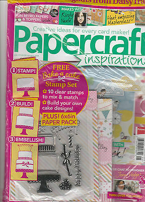 January Craft Ideas (PAPER CRAFT INSPIRATIONS,  JANUARY, 2014   ISSUE, 121 ( CREATIVE IDEAS FOR)