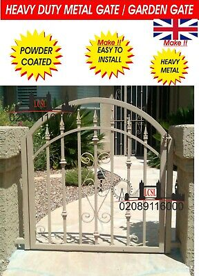 METAL GATE / WROUGHT IRON GATE / GATE. METAL GARDEN SIDE GATE DESIGN GATE