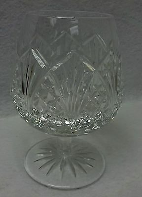 WATERFORD crystal WATERVILLE pattern Brandy Goblet or Glass - 5-1/4