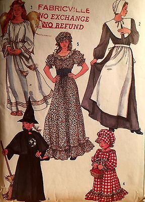 1986 'SIMPLICITY' DESIGN YOUR OWN COSTUME PATTERN 7650 - Design Your Costume