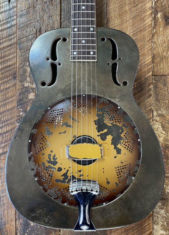 1936 National Triolian 14 Fret Resonator Guitar